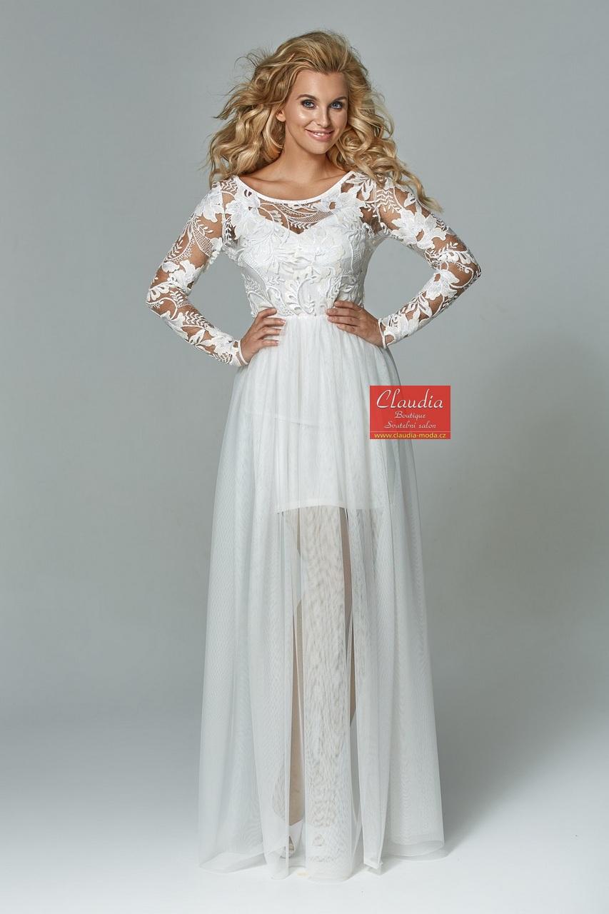 dlouhé společenské šaty prodej  e037bcaec8